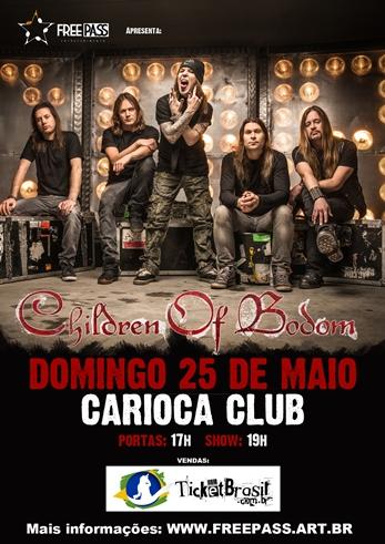 Children of Bodom em São Paulo