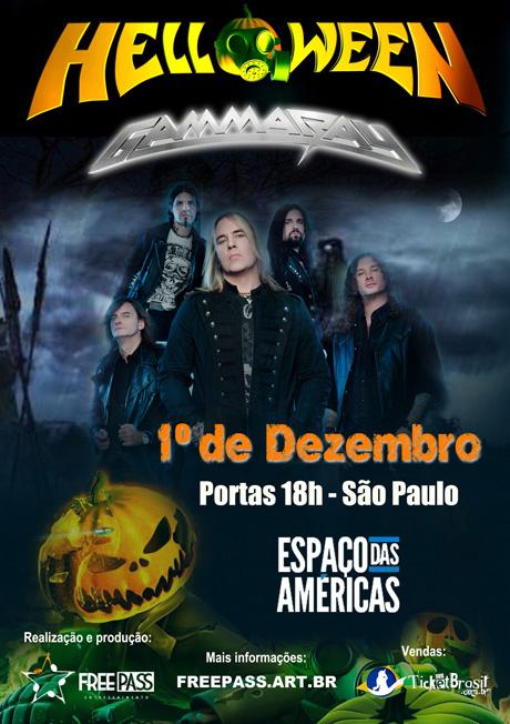 Helloween e Gamma Ray em São Paulo