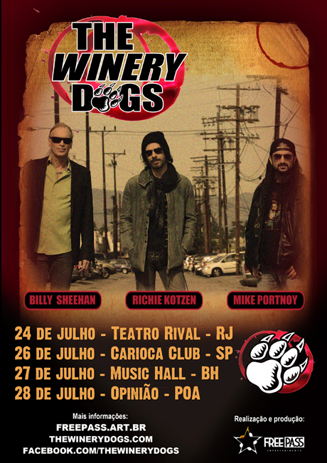 The Winery Dogs no Brasil